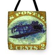The Upside Down Biplane Stamp - 20130119 - V3 Tote Bag