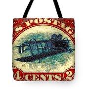 The Upside Down Biplane Stamp - 20130119 Tote Bag