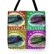 The Upside Down Biplane Stamp Four - 20130119 Tote Bag
