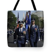 The U.s. Air Force Color Team Tote Bag