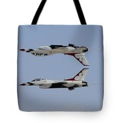 The U.s. Air Force Thunderbirds Tote Bag