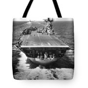 The U.s. Aircraft Carrier Uss Boxer Tote Bag