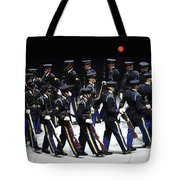The U.s. Army Drill Team Performs Tote Bag