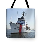 The U.s. Coast Guard Cutter Valiant Tote Bag