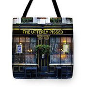 The Utterly Pissed Pub Tote Bag