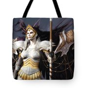 The Valkyrie Tote Bag by Melissa Krauss