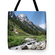 The Valley Beyond Tote Bag