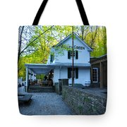 The Valley Green Inn On Forbidden Drive Tote Bag