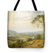 The Valley Of Wyoming Tote Bag