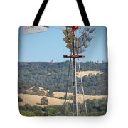 The Valley Windmill Tote Bag