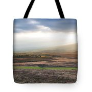 The Valleys In Wicklow Ireland Tote Bag