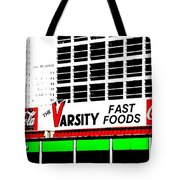 The Varsity Atlanta Pop Art Tote Bag