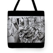 Woman In The Souk Tote Bag
