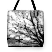 The Veil Was Torn Tote Bag