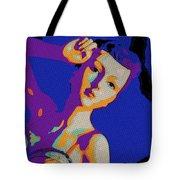 The Velvet Dancer Tote Bag