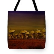 The Very Large Array In New Mexico Tote Bag