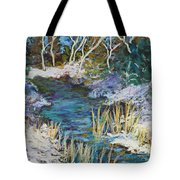 The View From County Hwy Q Tote Bag