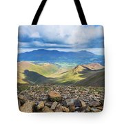 Keswick And Derwent Water From Crag Hill Tote Bag