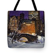 The View From The Bridge Tote Bag