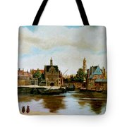 The View Of Delft Tote Bag