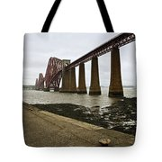The View Of The Forth Bridge Tote Bag