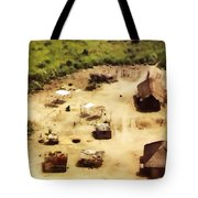 The Village In Africa Tote Bag