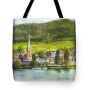 The Village Of Einruhr In Germany Tote Bag