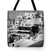 The Village Of Oia 2 Tote Bag