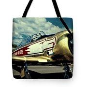The Vintage North American T-6 Texan Tote Bag