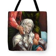 The Virgin And Saint John The Evangelist Tote Bag