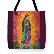 The Virgin Of Guadalupe Tote Bag