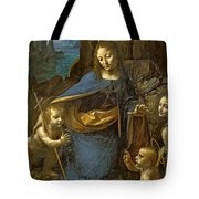 The Virgin Of The Rocks Tote Bag
