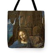 The Virgin Of The Rocks Tote Bag