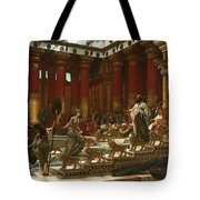 The Visit Of The Queen Of Sheba To King Solomon Tote Bag