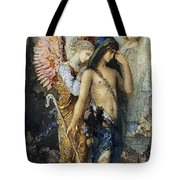 The Voices. Hesiod And The Muse Tote Bag