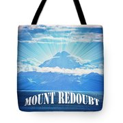 The Volcano Mt Redoubt Tote Bag