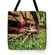 The Wagon Wheel Tote Bag