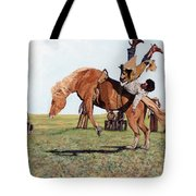 The Waiting Line Tote Bag