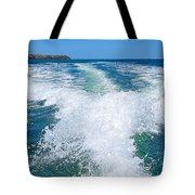 The Wake Tote Bag by Kaye Menner
