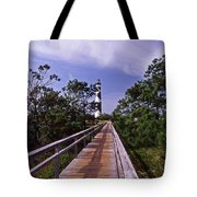 The Walk To Cape Lookout Tote Bag