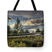 The Walking Path Tote Bag