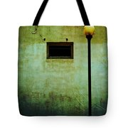 The Wall And The Lamppost Tote Bag
