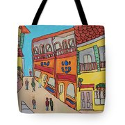 The Walled City Tote Bag
