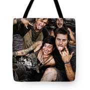 The Wanderers In New Orleans Tote Bag