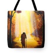 The Wandering Ascetic Tote Bag