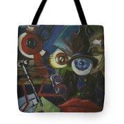 The Wandering Eye Tote Bag