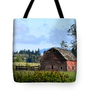 The Warmth Of The Barn Tote Bag