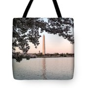 The Washington Monument  Tote Bag