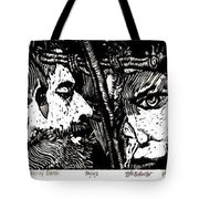 The Watchers Of Death Tote Bag