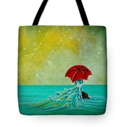 The Watchful Seas Tote Bag